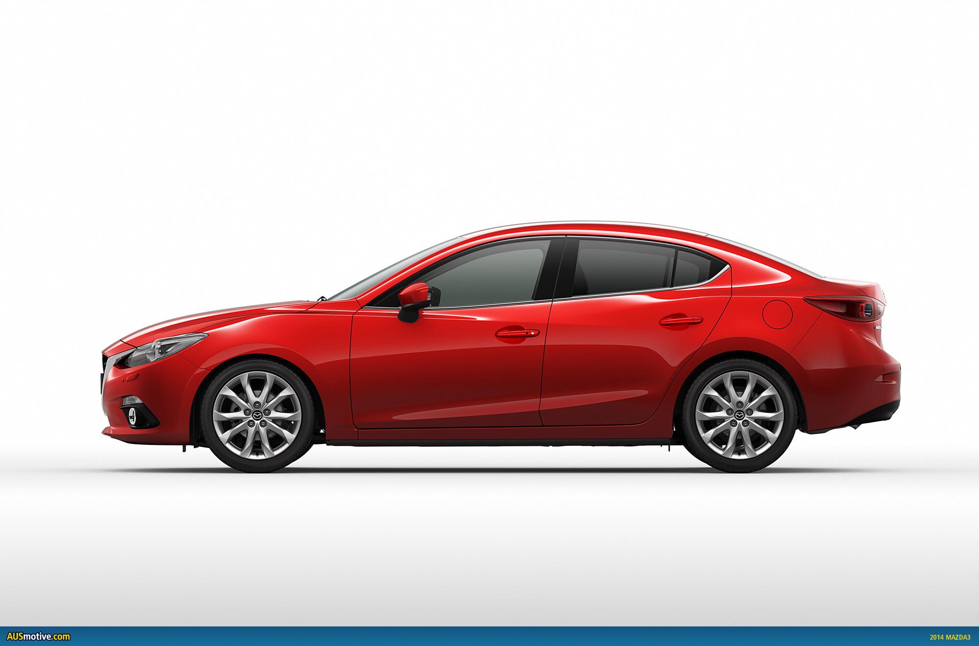 2014 Mazda3 in detail