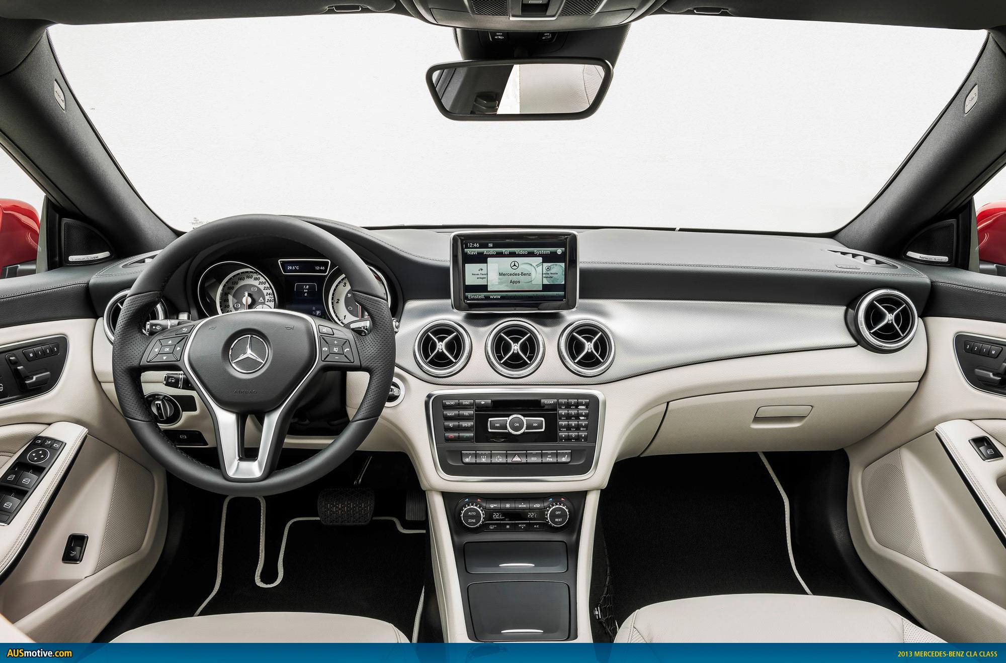 Mercedes benz cla australian pricing specs for 2013 mercedes benz cla class