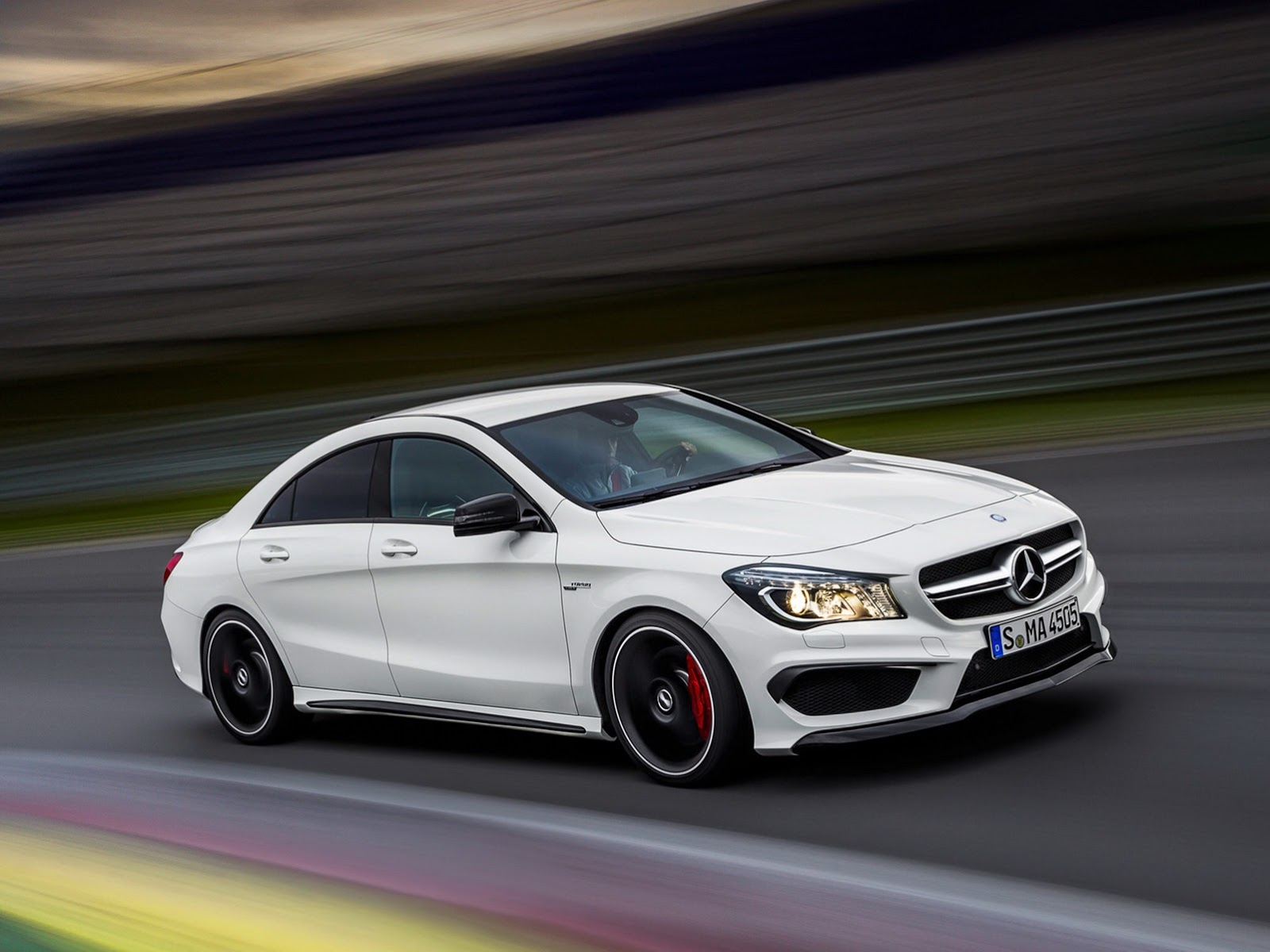 Mercedes benz cla 45 amg images leaked for Mercedes benz amg cla 45