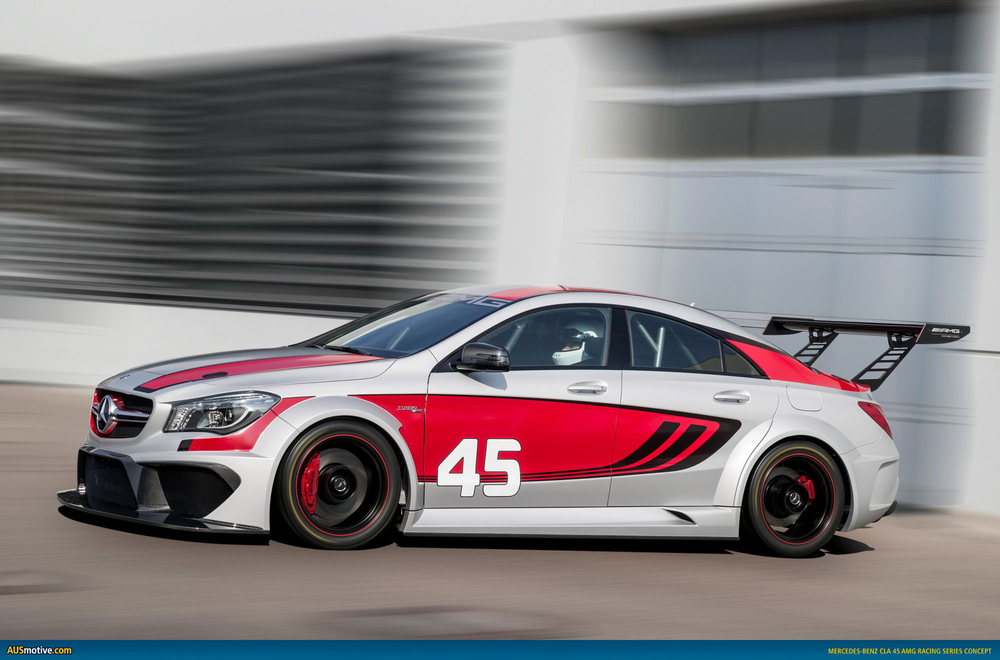 mercedes cla 45 amg racing series concept revealed. Black Bedroom Furniture Sets. Home Design Ideas