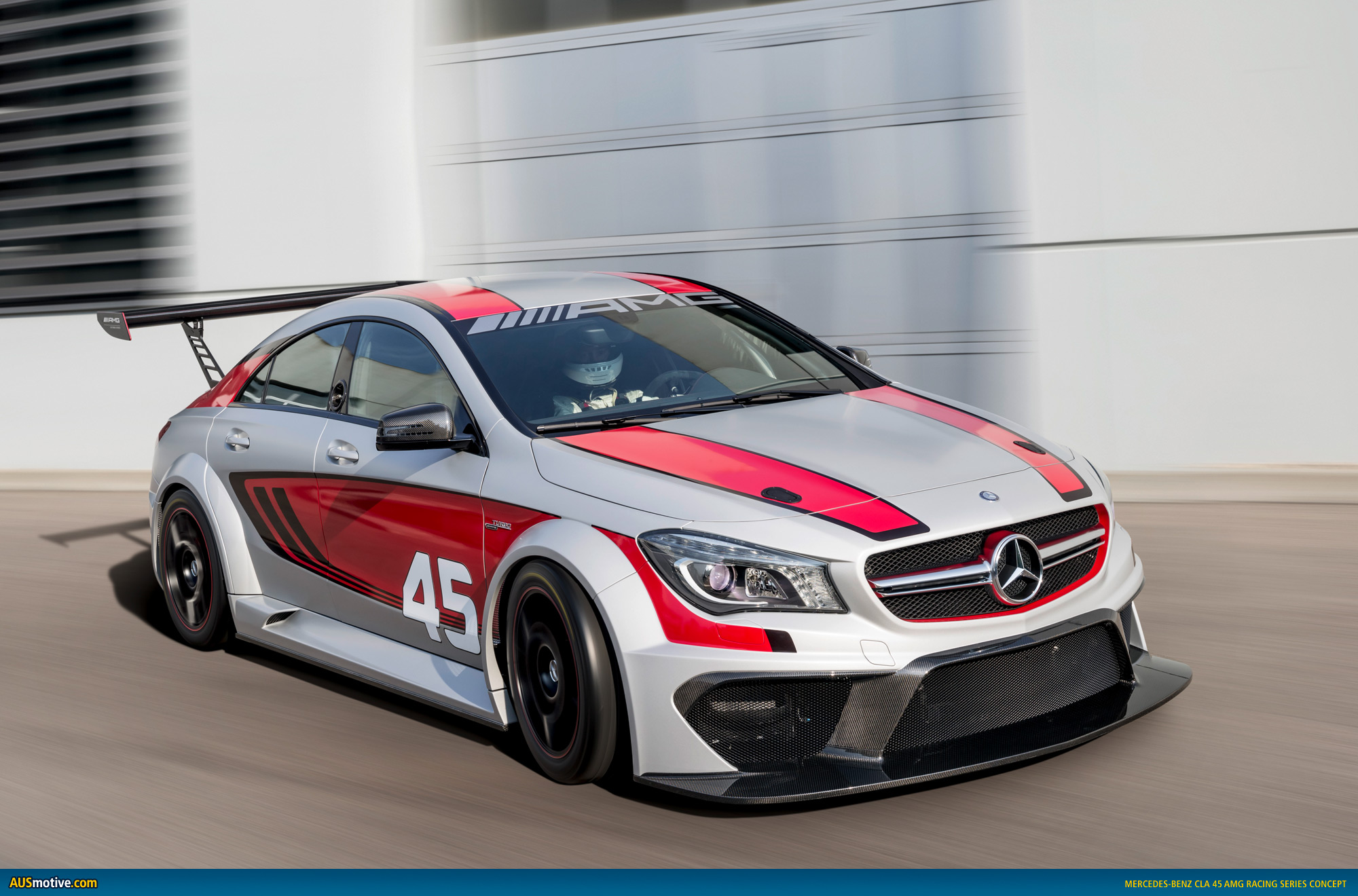 mercedes cla 45 amg racing series concept On mercedes benz racing