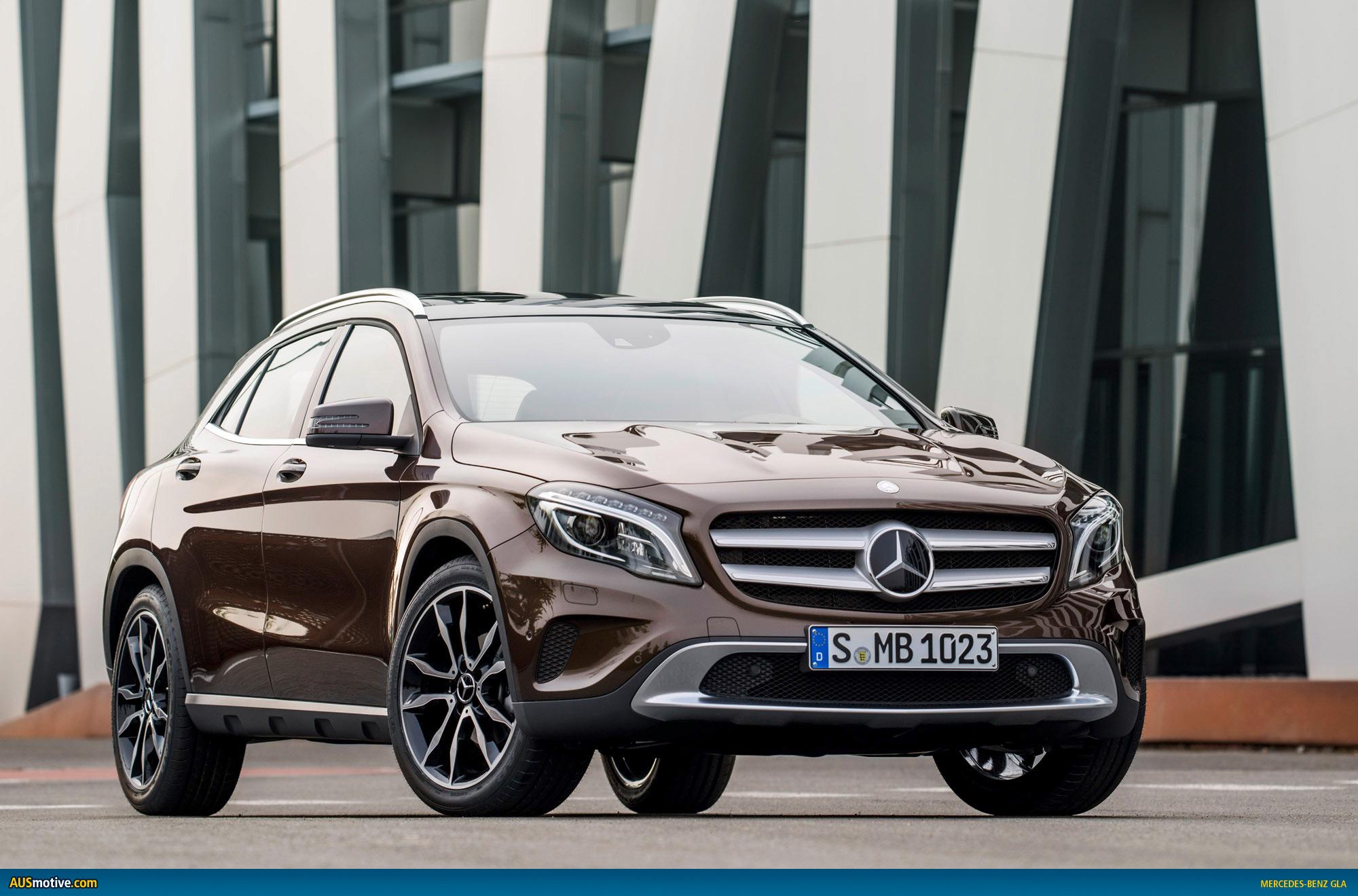 Mercedes benz gla revealed for 2013 mercedes benz gla