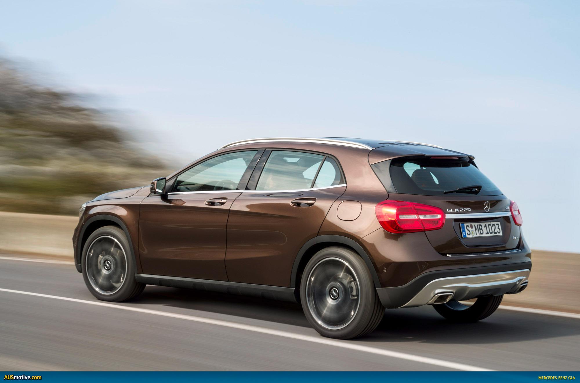 Mercedes benz gla revealed for Mercedes benz gla prices