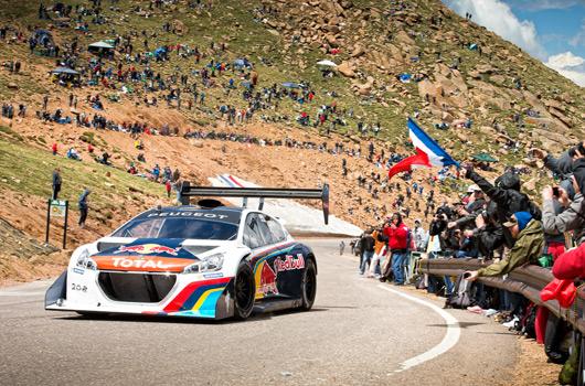 Sebastien Loeb, Peugeot 208 T16 Pikes Peak