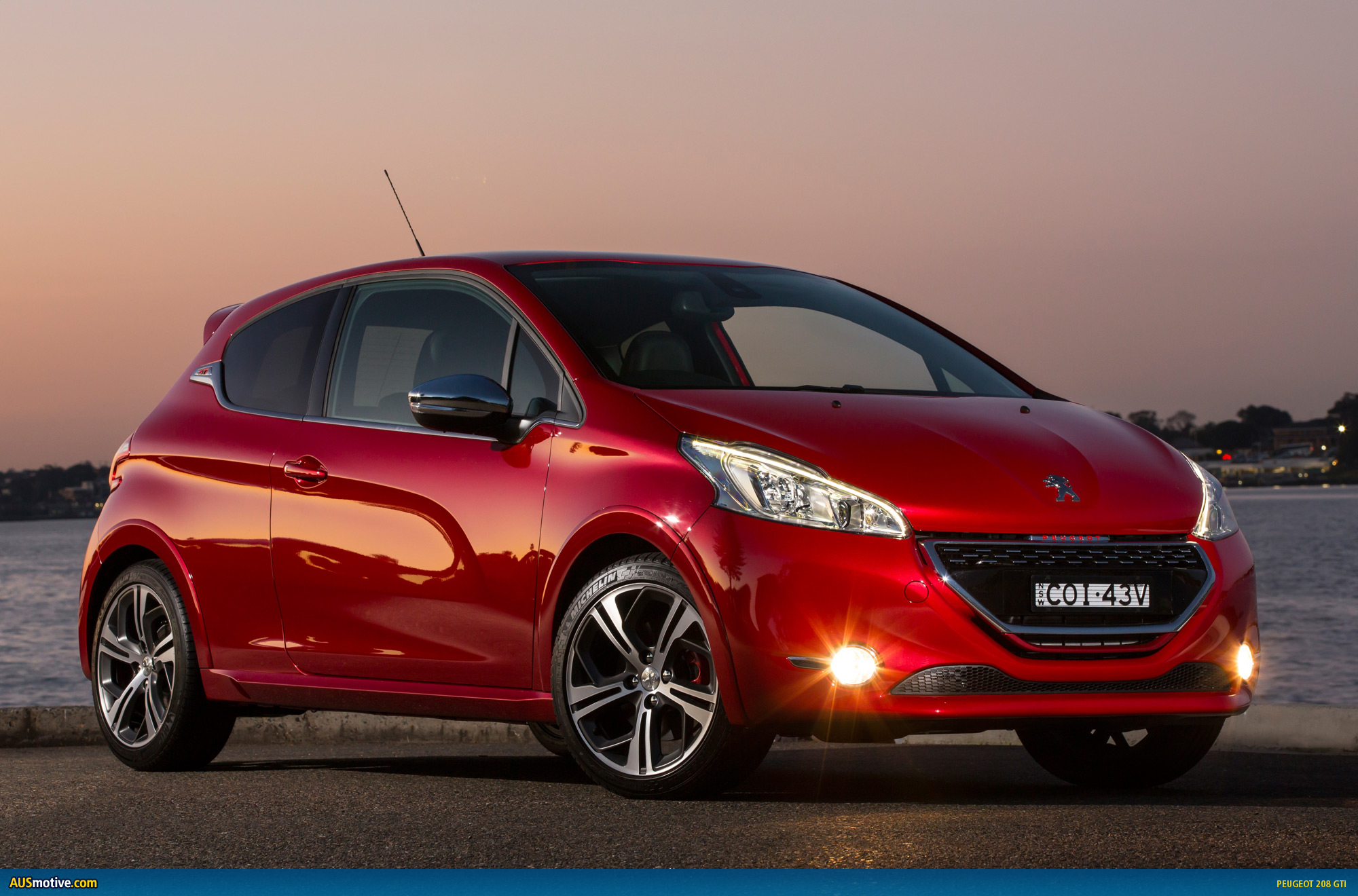 peugeot 208 gti australian pricing specs. Black Bedroom Furniture Sets. Home Design Ideas
