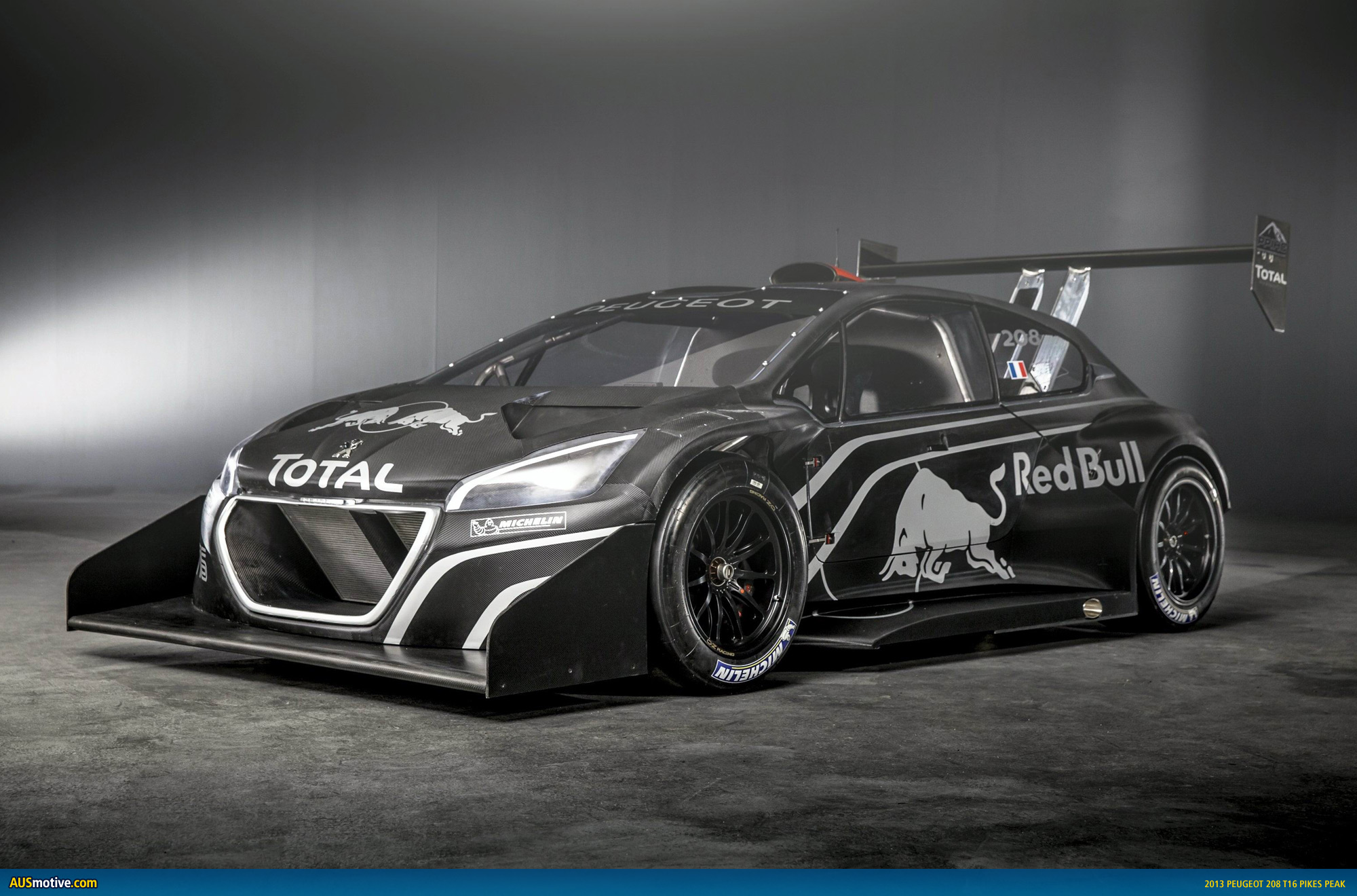 sebastien loeb s peugeot 208 t16 revealed. Black Bedroom Furniture Sets. Home Design Ideas