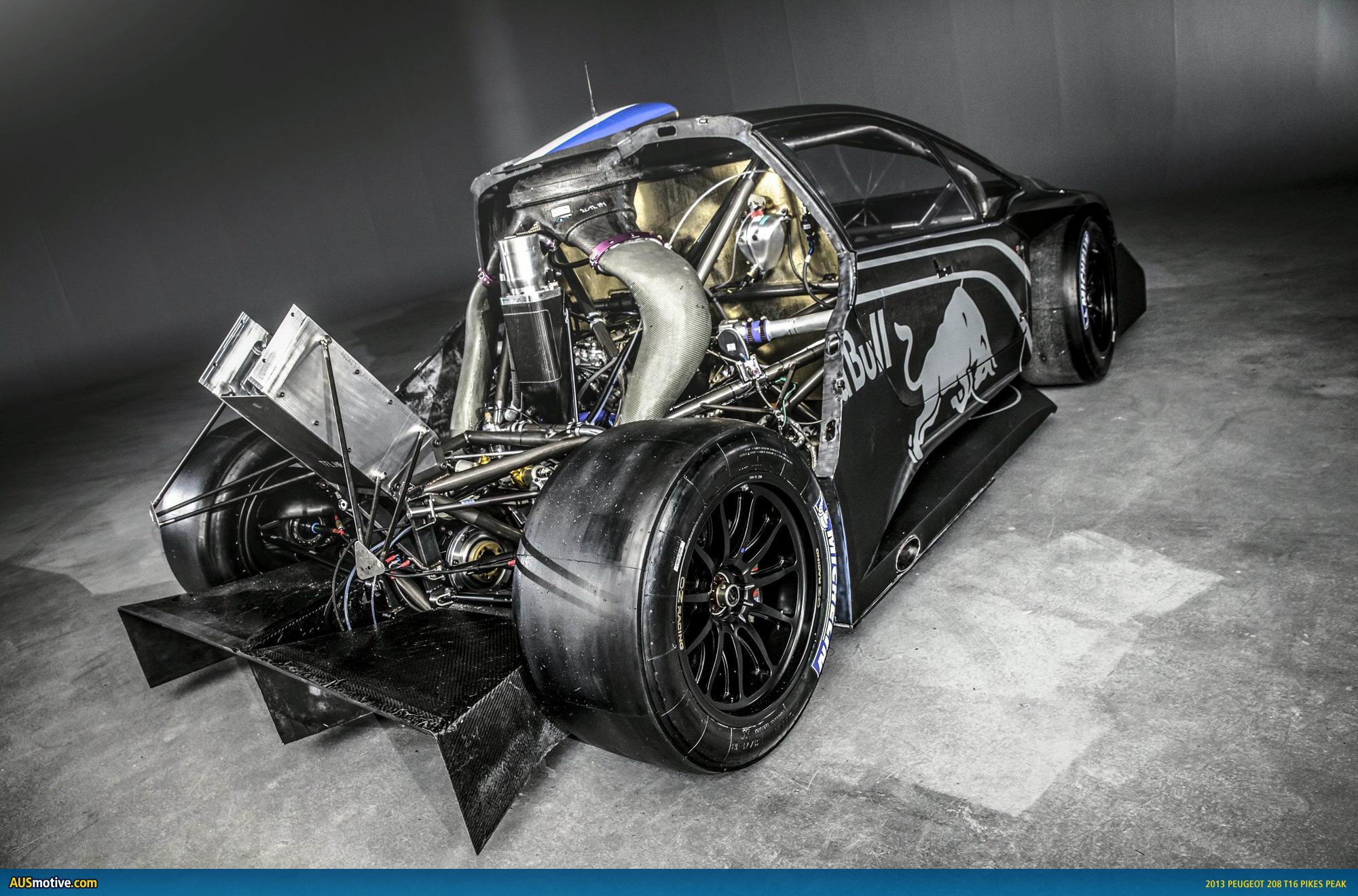 AUSmotive.com » Peugeot 208 T16 Pikes Peak Revealed