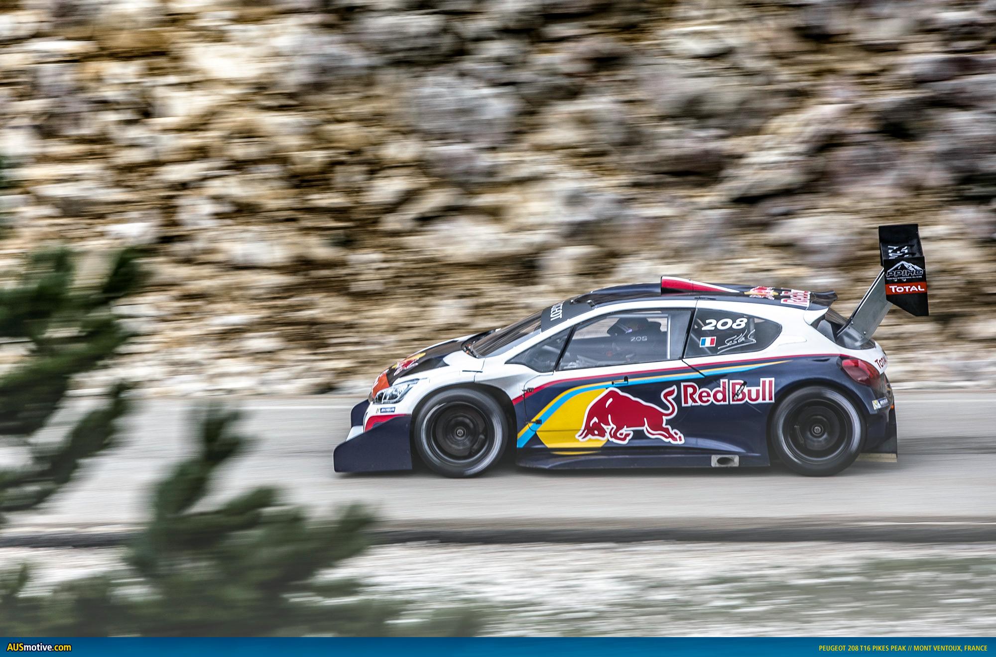 AUSmotive.com » Peugeot Continues 208 T16 Pikes Peak Countdown
