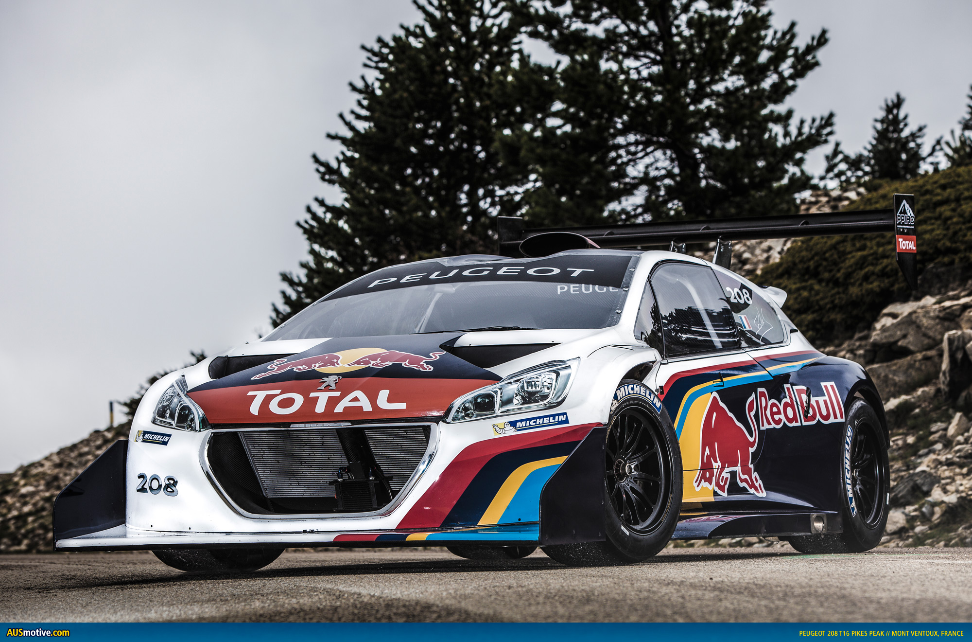 peugeot continues 208 t16 pikes peak countdown. Black Bedroom Furniture Sets. Home Design Ideas