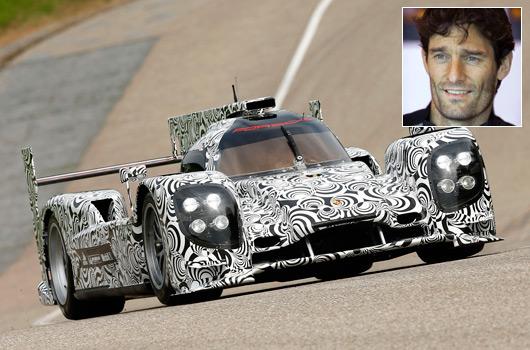 Mark Webber, 2014 factory Porsche driver