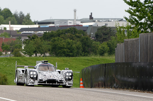 2014 Porsche LMP1 testing at Weissach