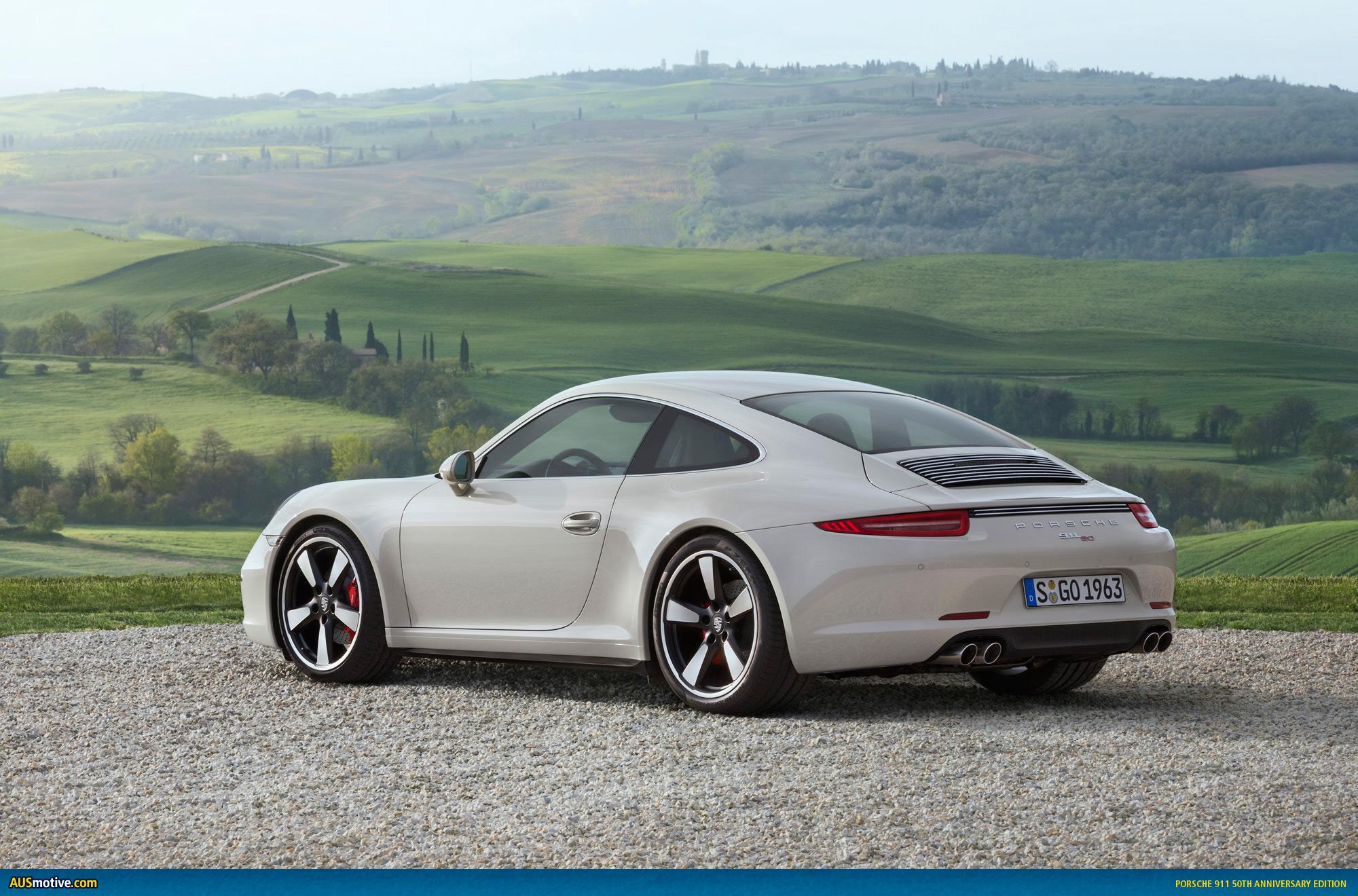 Ausmotive Com 187 Porsche 911 50th Anniversary Edition Revealed