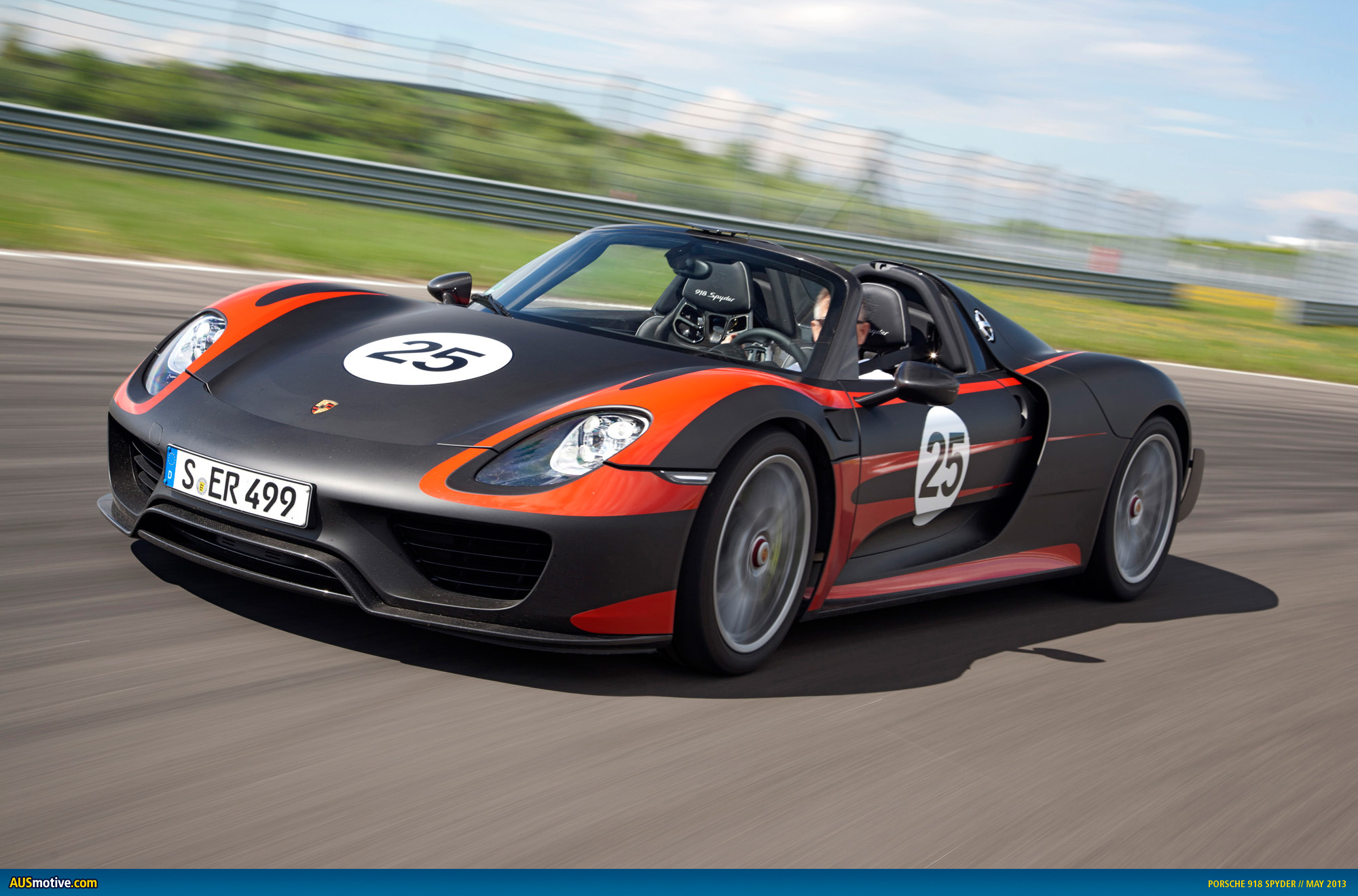 Ausmotive Com 187 Porsche Confirms 918 Spyder For Frankfurt