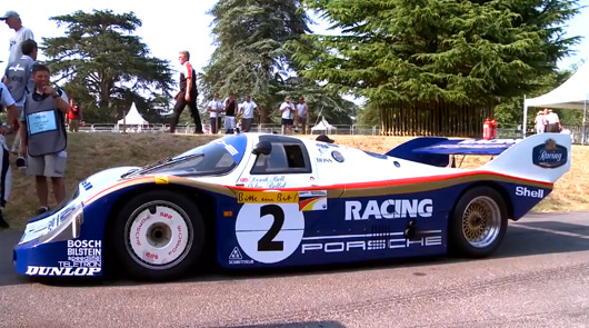 Porsche 956 at 2013 Goodwood Festival of Speed
