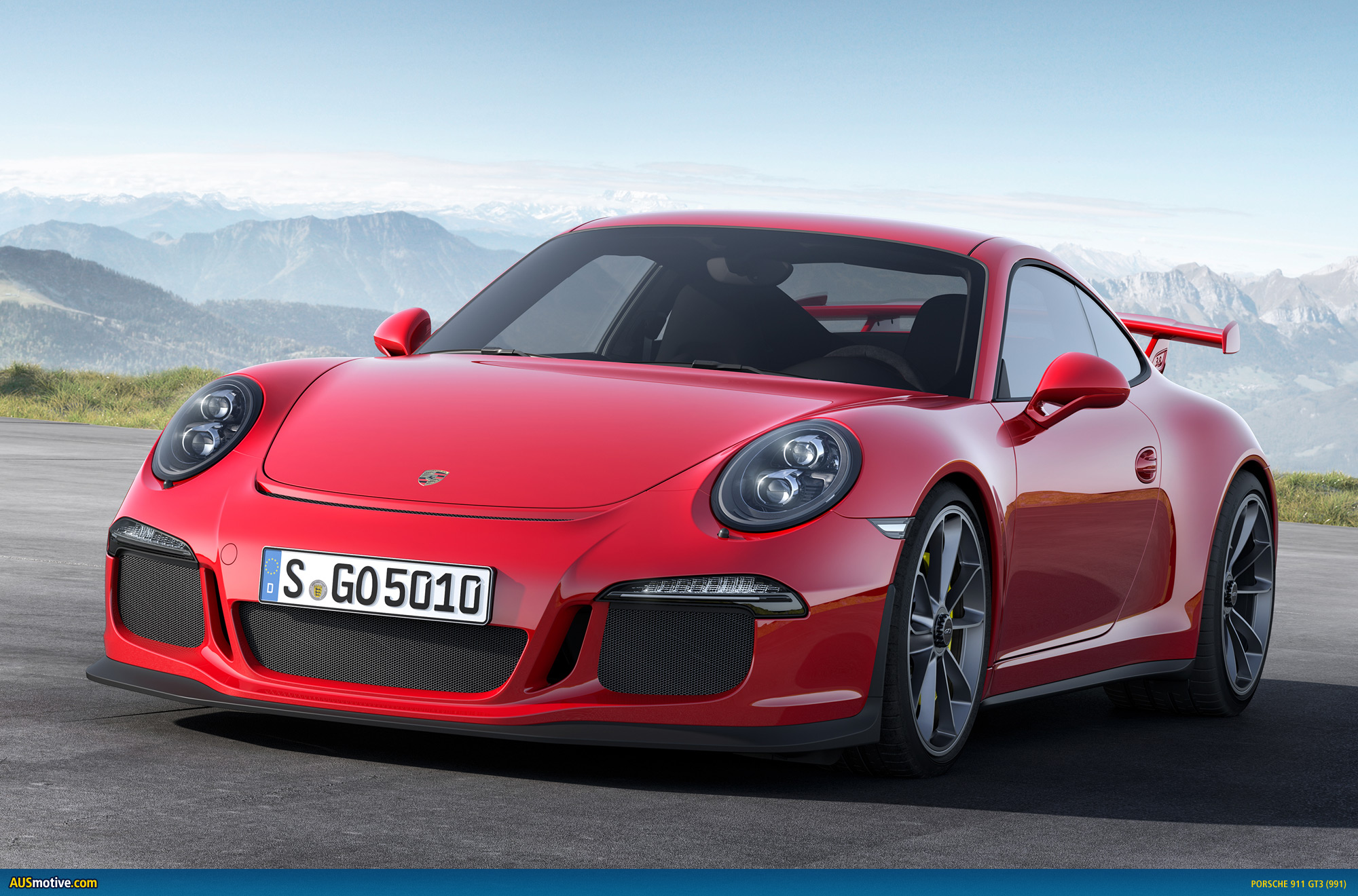 Ausmotive Com 187 Geneva 2013 Porsche 911 Gt3 Revealed