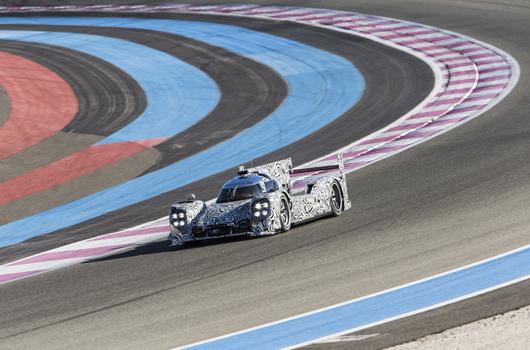 Porsche LMP1 test