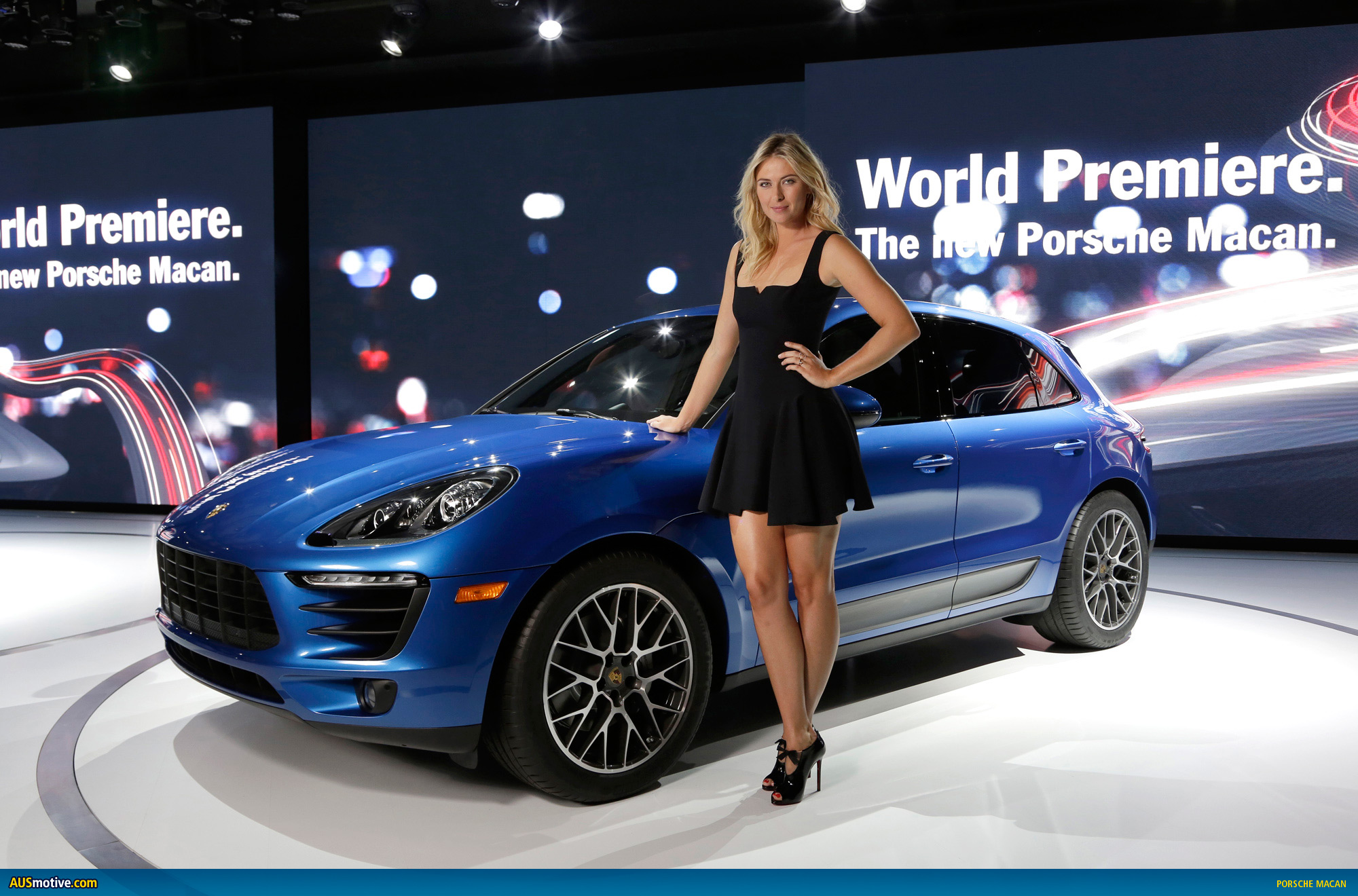 la 2013 porsche macan revealed. Black Bedroom Furniture Sets. Home Design Ideas
