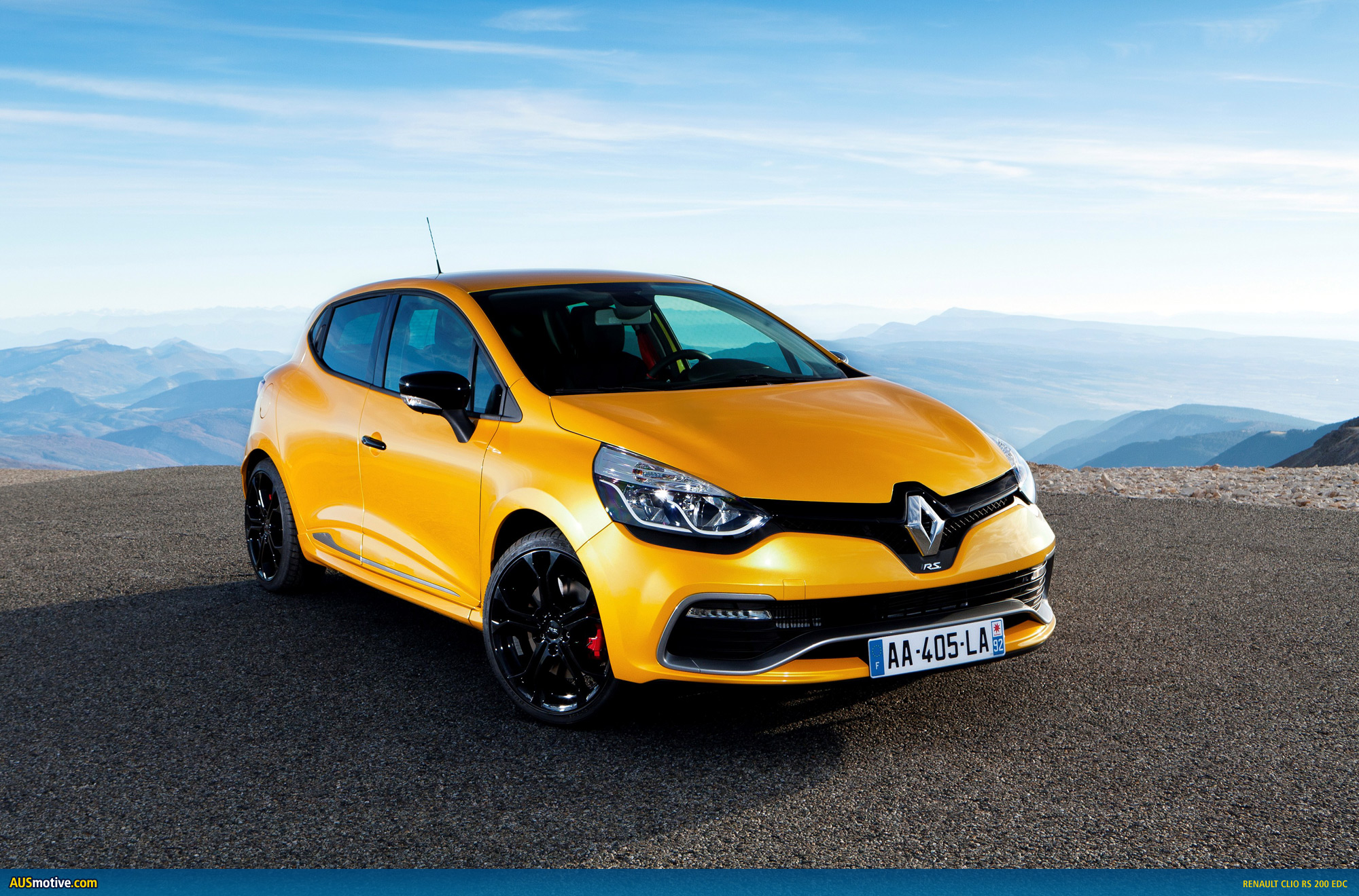 renault clio rs 200 edc specs confirmed. Black Bedroom Furniture Sets. Home Design Ideas