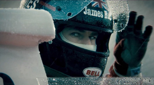 Chris Hemsworth as James Hunt, Rush the movie