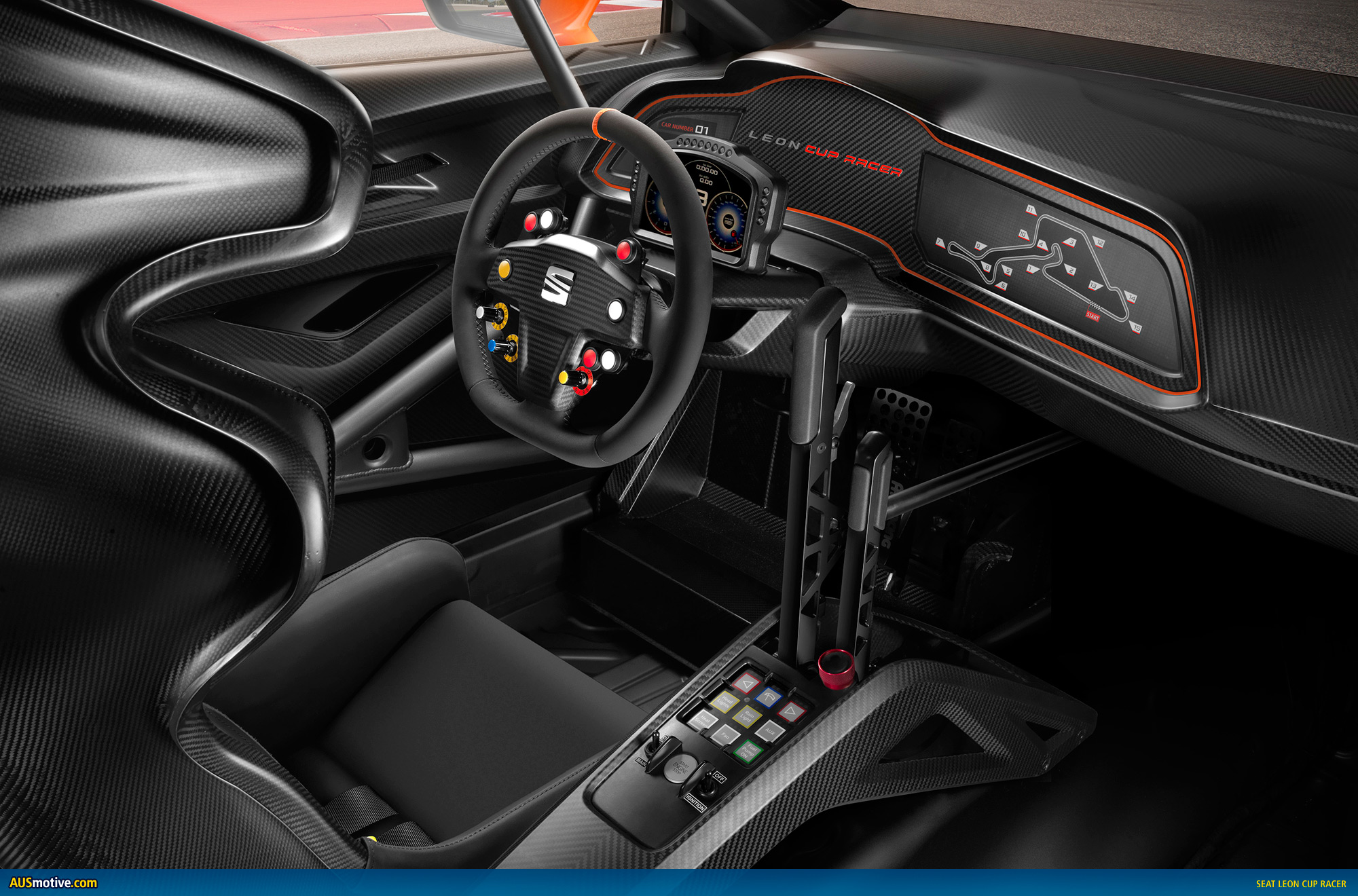 W rthersee 2013 seat leon cup racer for Interieur seat ibiza cupra