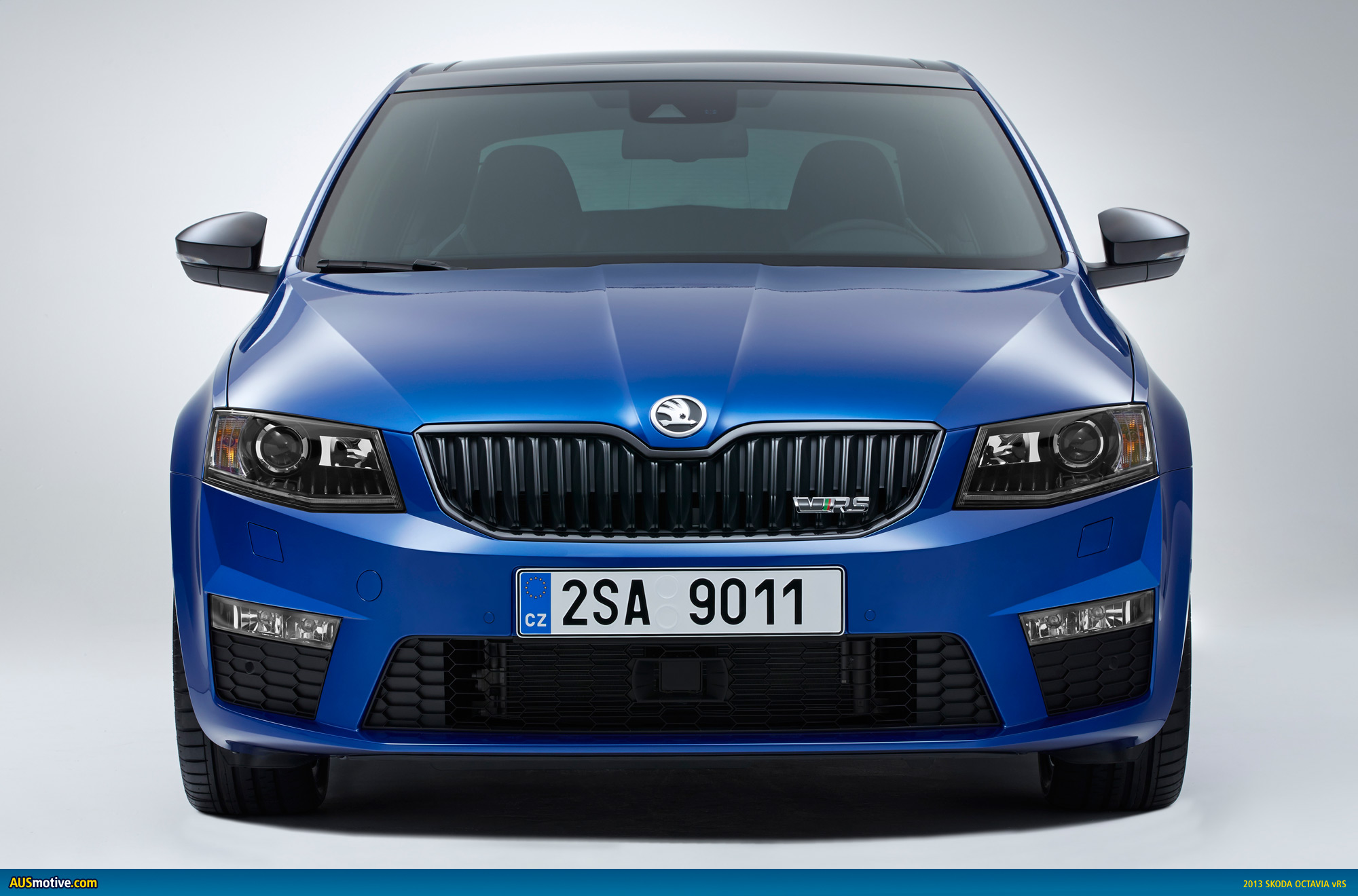 2013 skoda octavia vrs revealed. Black Bedroom Furniture Sets. Home Design Ideas