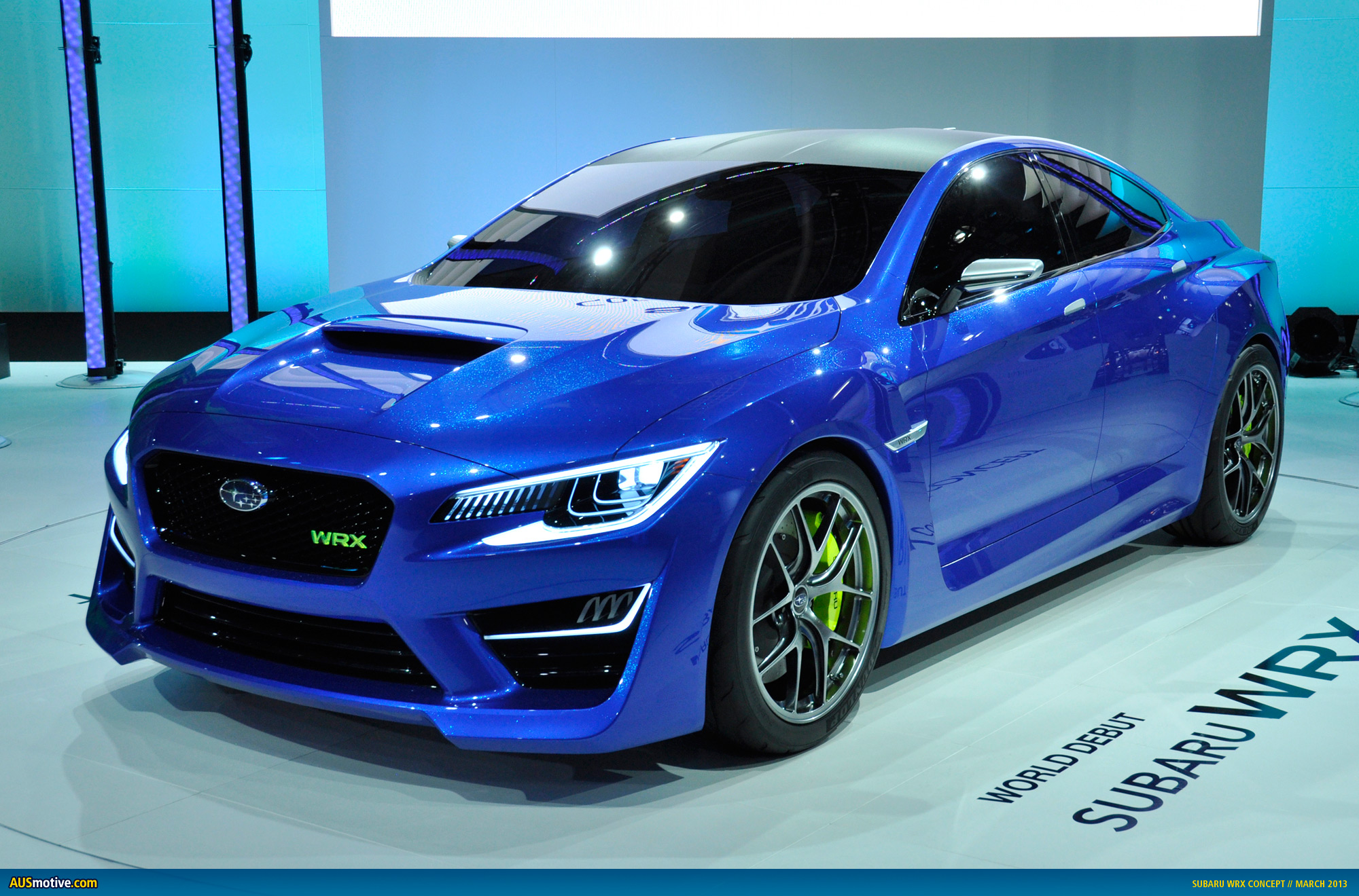 new york 2013 subaru wrx concept. Black Bedroom Furniture Sets. Home Design Ideas