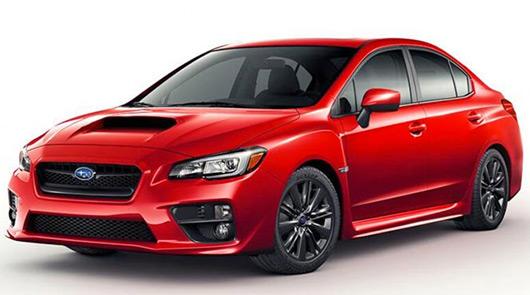 2014 Subaru WRX leaked image