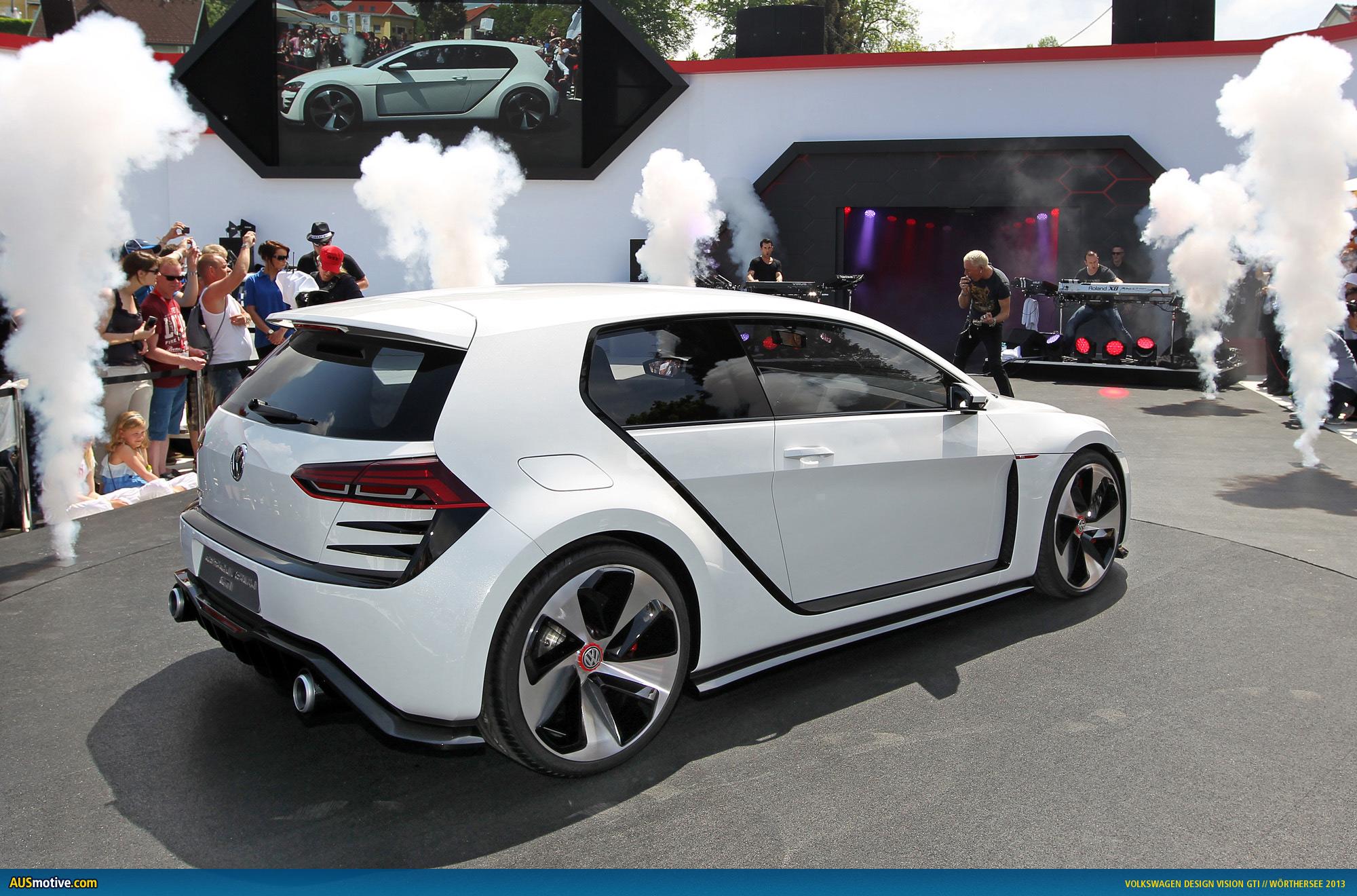 AUSmotive.com » Volkswagen Design Vision GTI photo gallery