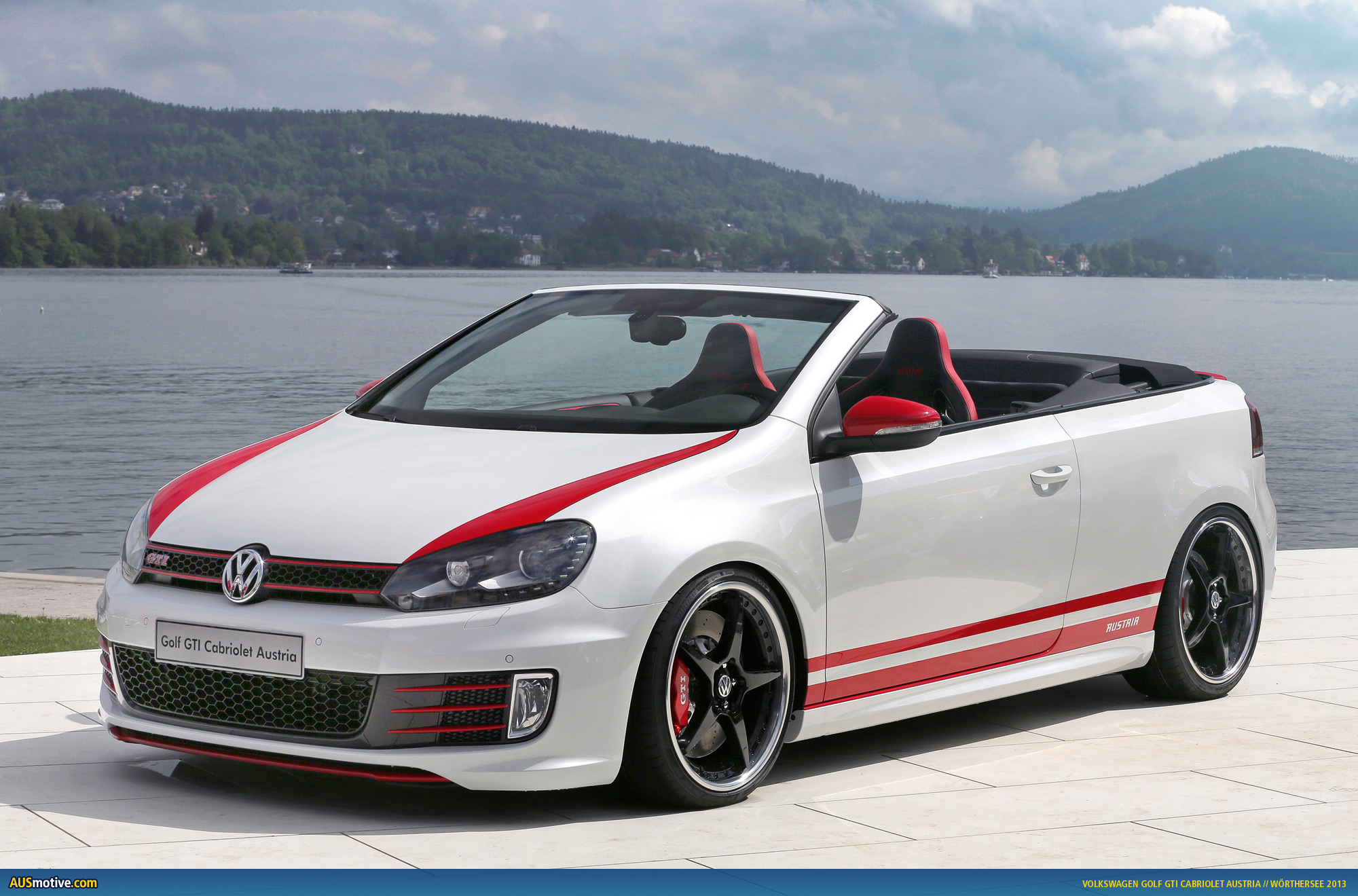 w rthersee 2013 volkswagen golf gti cabrio austria. Black Bedroom Furniture Sets. Home Design Ideas