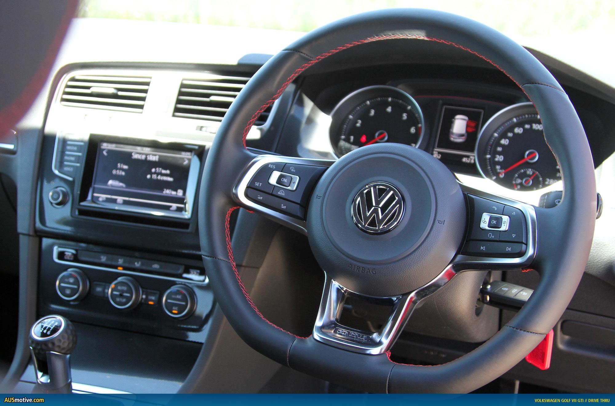 AUSmotivecom Drive Thru Volkswagen Mk Golf GTI - 2013 volkswagen golf gti interior