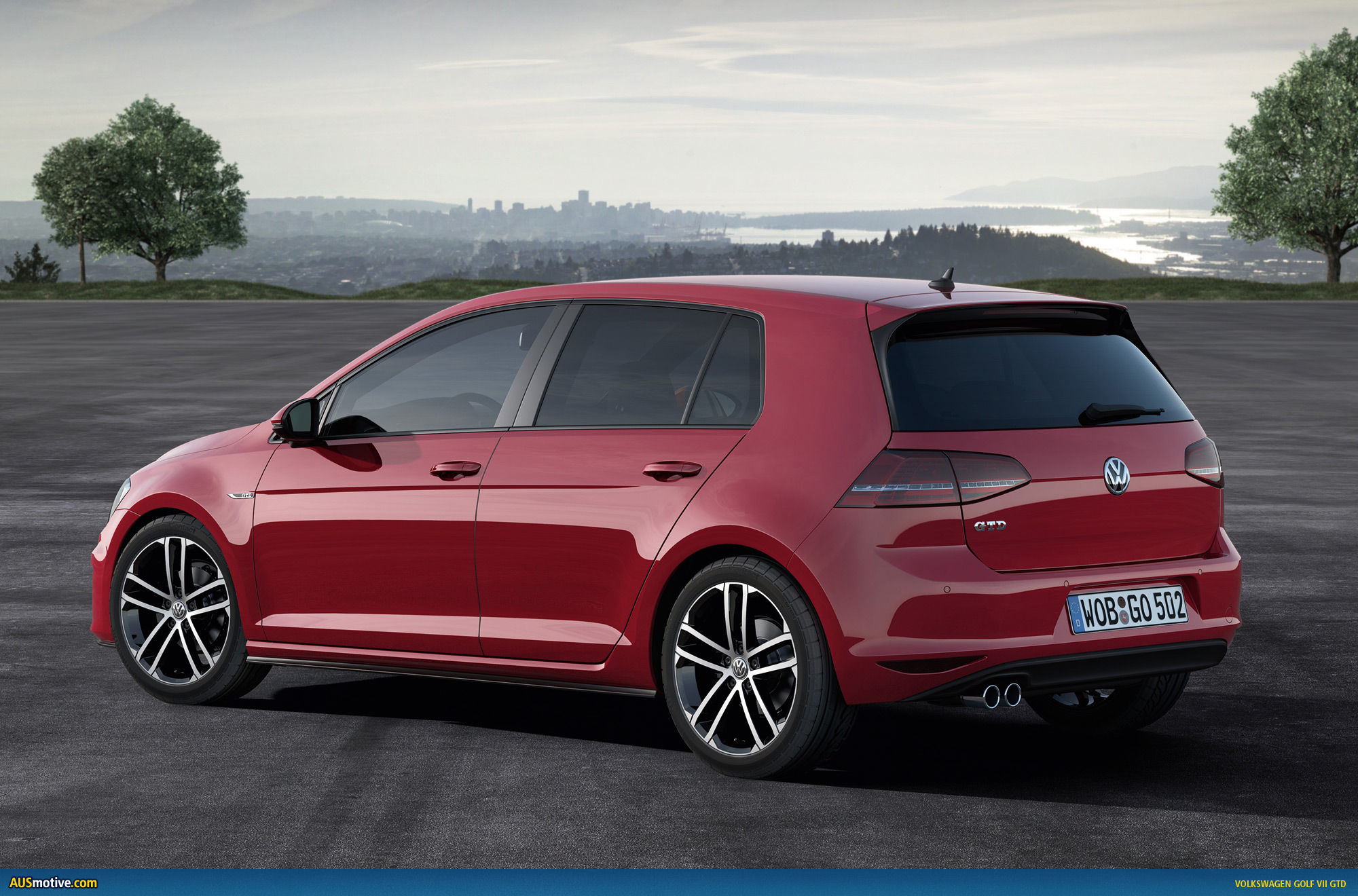 volkswagen golf vii gtd revealed. Black Bedroom Furniture Sets. Home Design Ideas