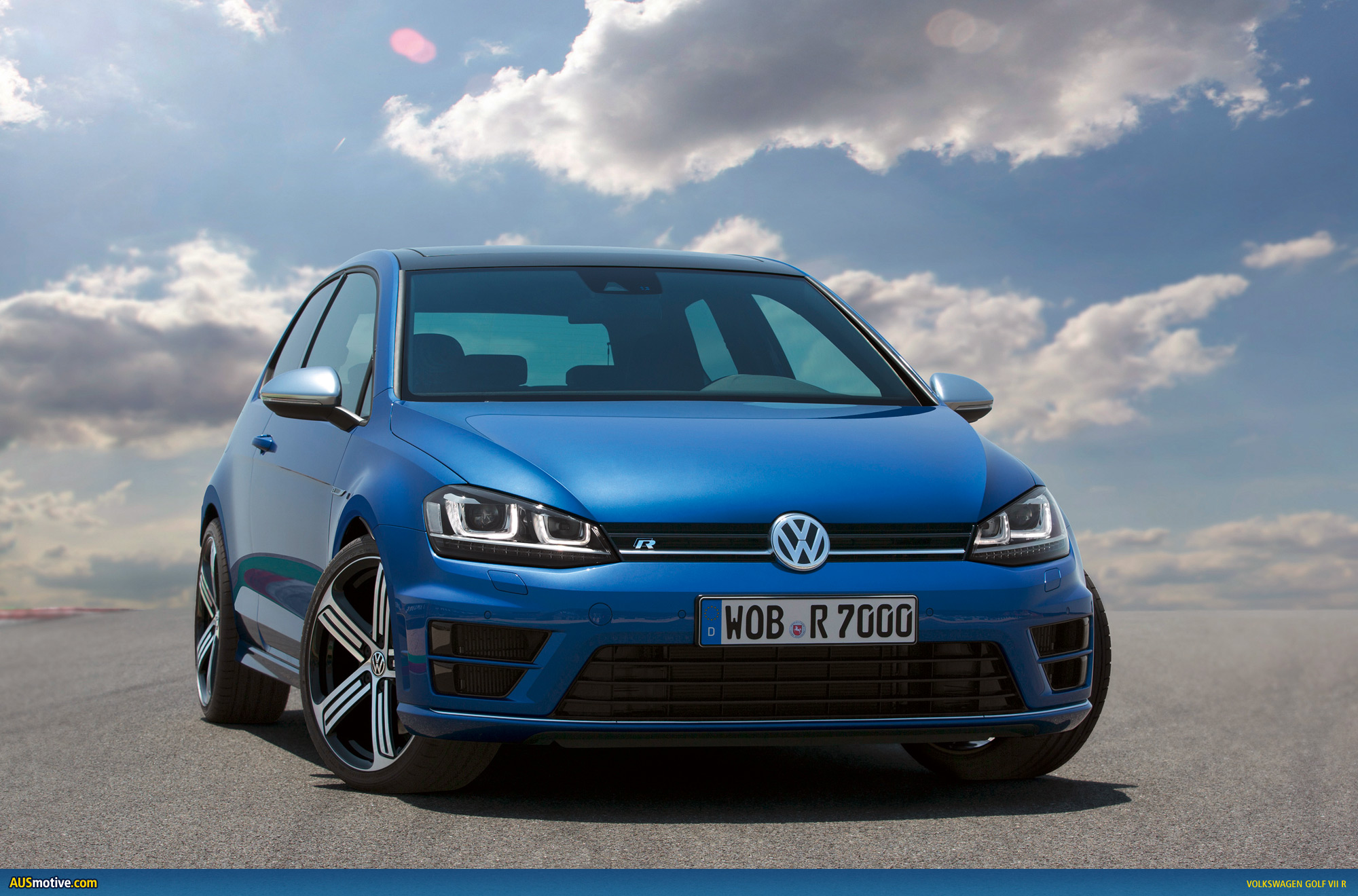 Ausmotive Com 187 Volkswagen Golf Vii R Photo Gallery