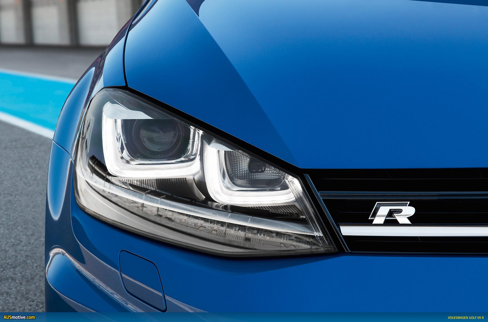 AUSmotive.com » Volkswagen Golf VII R photo gallery
