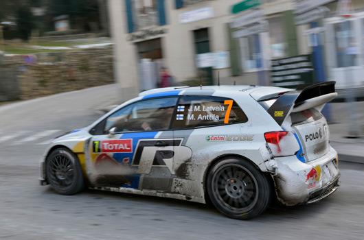 Volkswagen Polo R WRC, 2013 Rallye Monte Carlo