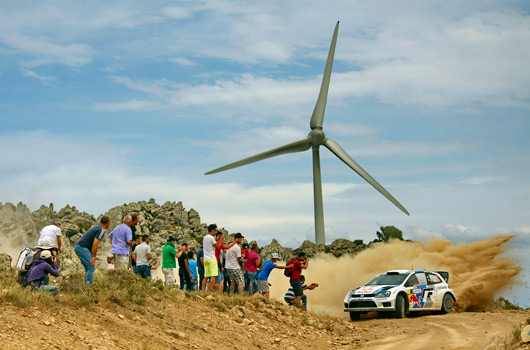 Volkswagen Polo R WRC, 2013 Rally Italy
