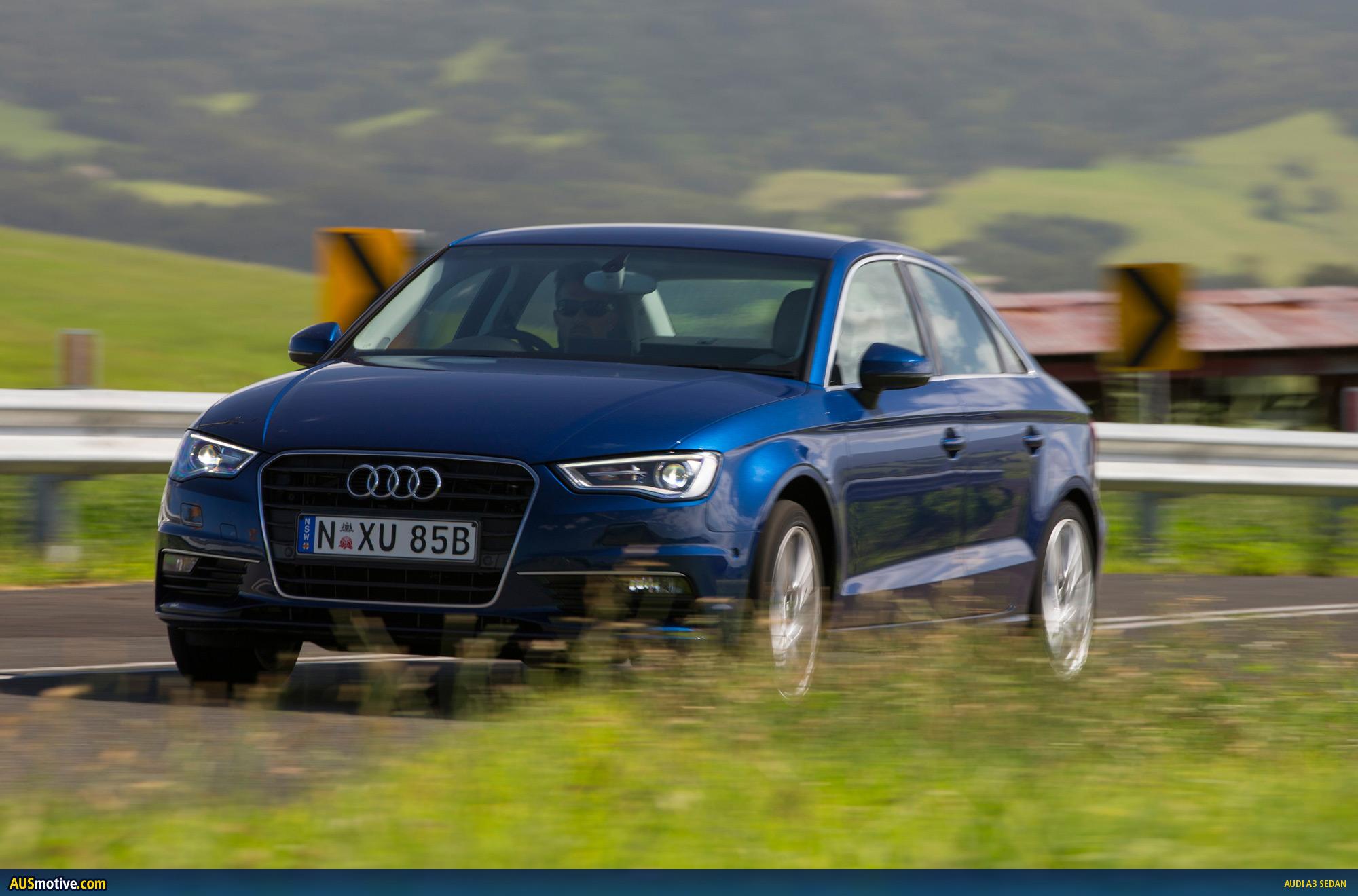 Audi S3 Sedan Blue - Viewing Gallery