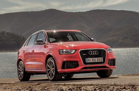 The Audi RS Q3 is now on Australian shores. It's powered by a 228kW