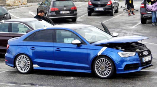 Audi RS3 sedan prototype
