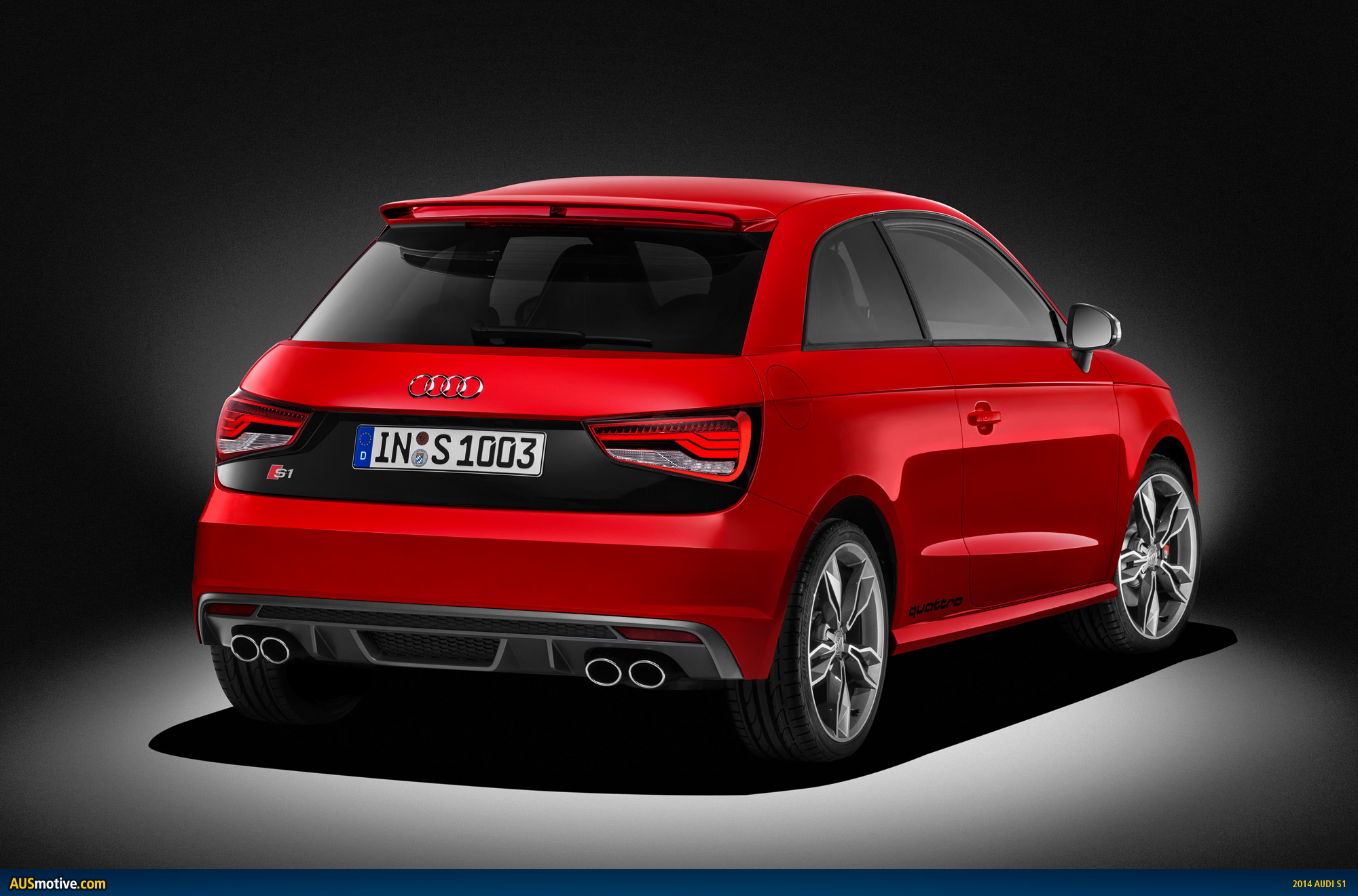 audi s1 s1 sportback revealed. Black Bedroom Furniture Sets. Home Design Ideas