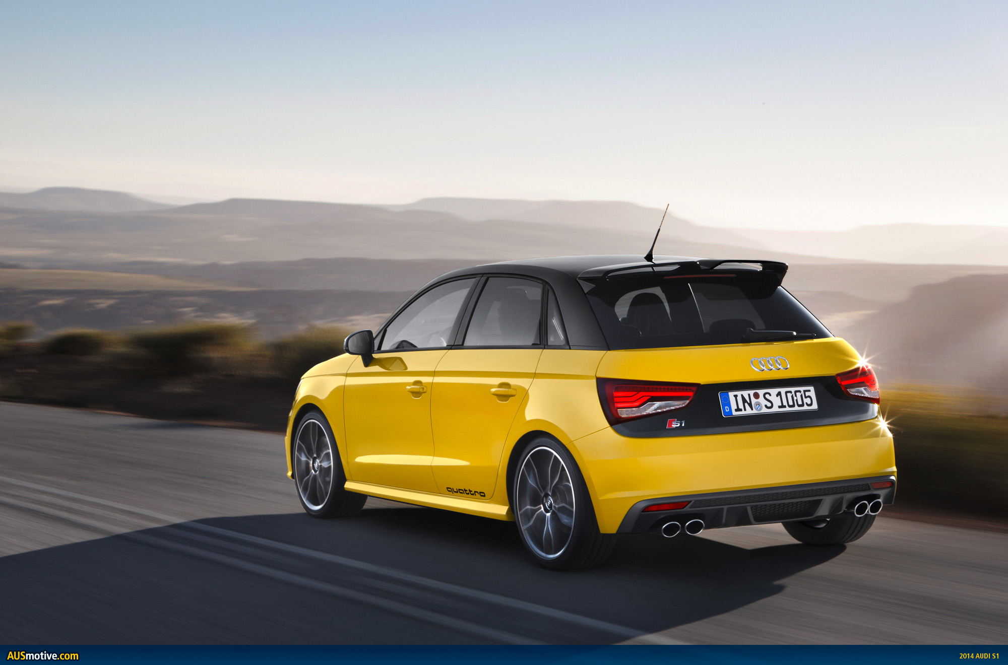 Audi A1 New Model >> AUSmotive.com » Audi S1 & S1 Sportback revealed