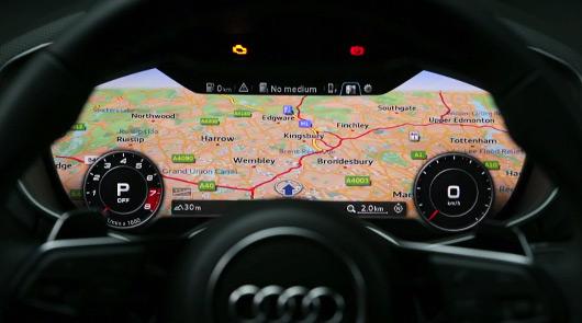 Audi TT virtual cockpit