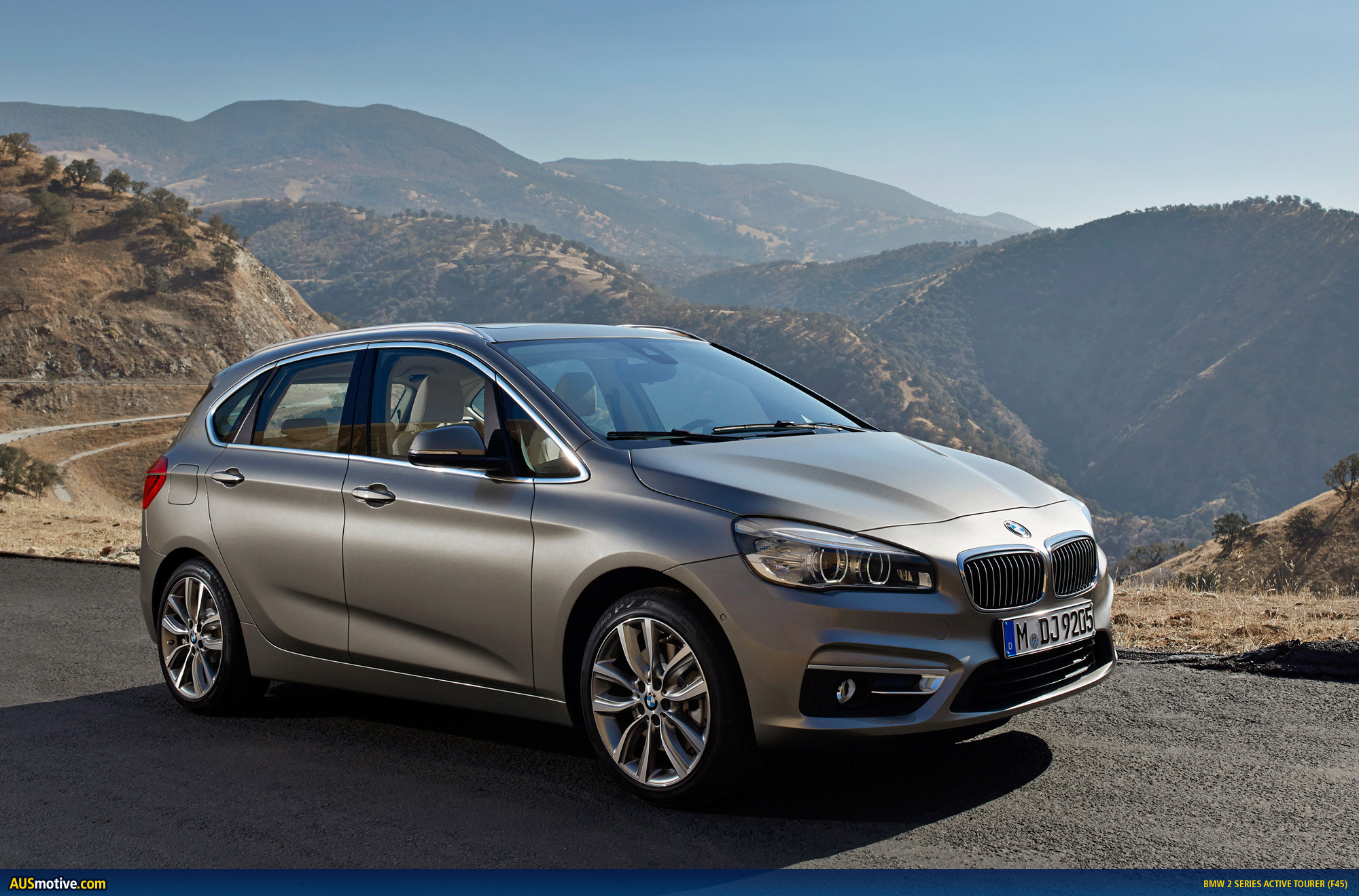 bmw 2 series active tourer revealed. Black Bedroom Furniture Sets. Home Design Ideas
