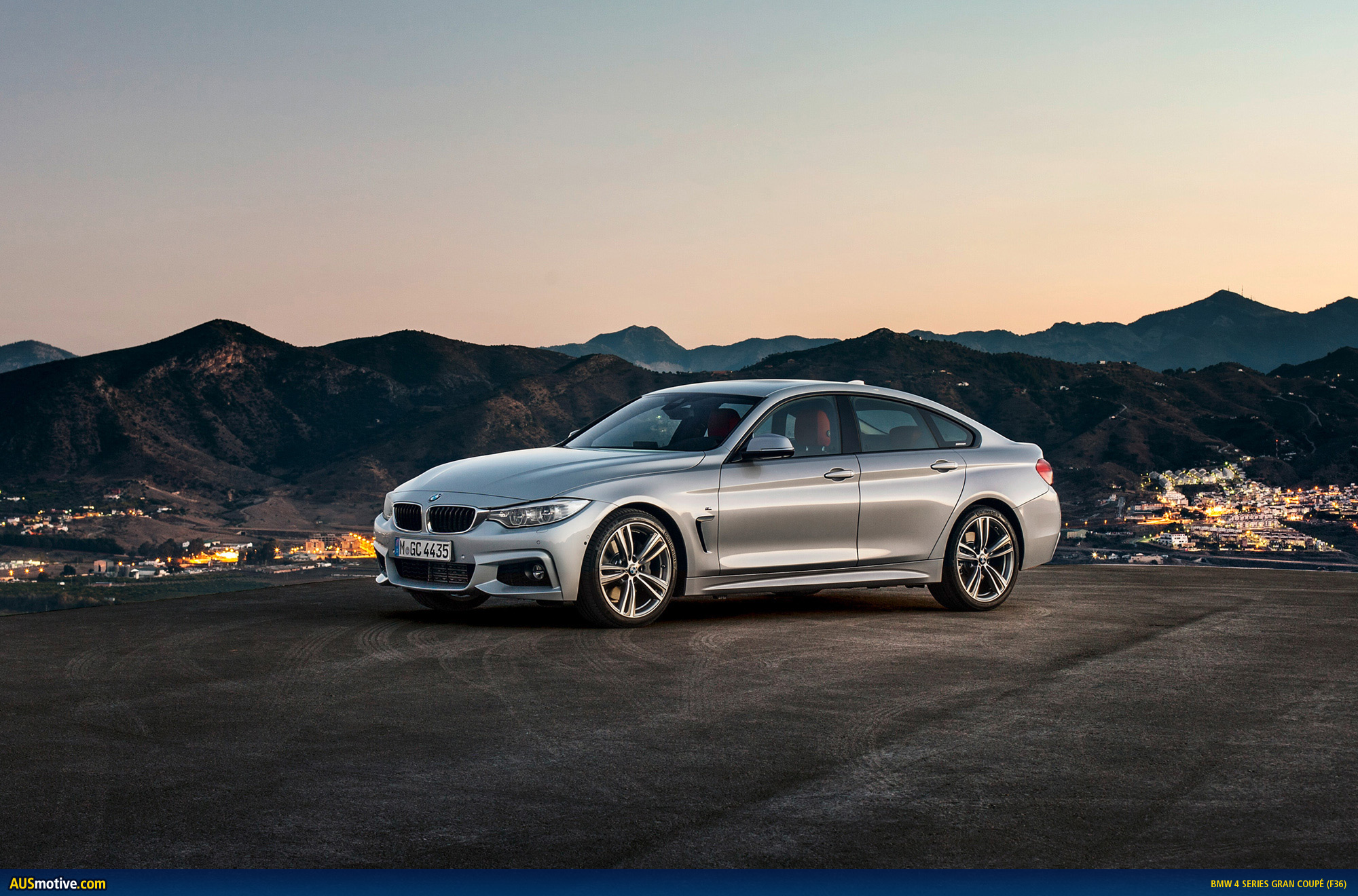 bmw 4 series gran coup revealed. Black Bedroom Furniture Sets. Home Design Ideas