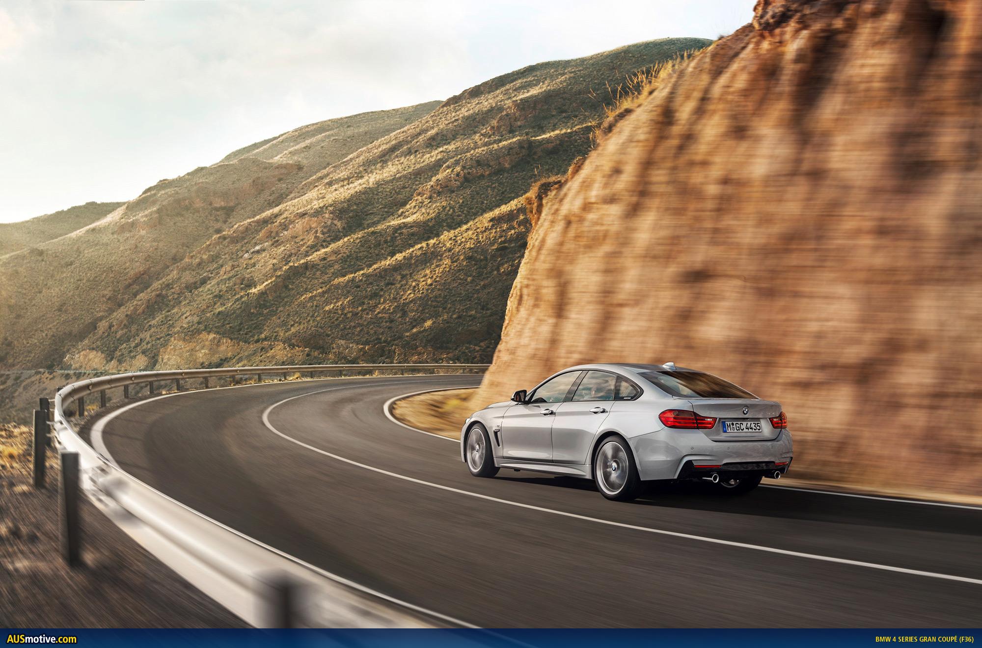AUSmotive.com » BMW 4 Series Gran Coupé revealed