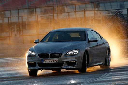 BMW self-drifting cars