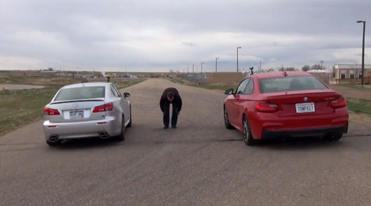 BMW M235i v Lexus IS F