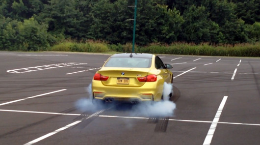 BMW M4 with M Performance Exhaust