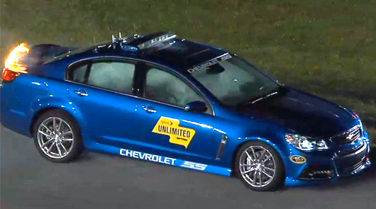 Chevrolet SS safety car