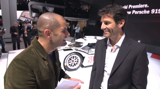 Chris Harris and Mark Webber