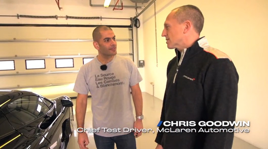 Chris Harris and Chris Goodwin talk about the McLaren P1